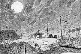 Juan Moreno, el dibujante de la Formentera de toda la vida