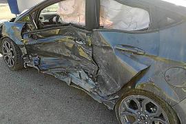 Aparatoso accidente con heridos en Sant Joan