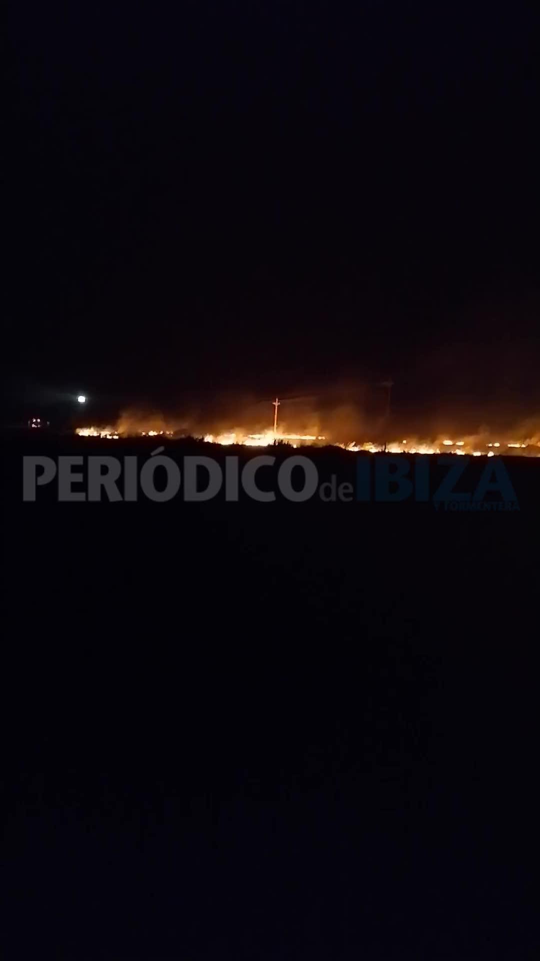 Controlado un incendio junto al faro de la Mola en Formentera