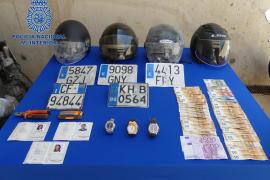 Tres italianos detenidos por el robo de relojes de lujo en Ibiza por valor de 185.000 euros