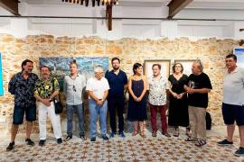 Carles Guasch y Enric Riera juntos en la muestra 'Baleàrics'