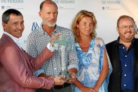 Kyril de Bulgaria en la entrega del premio.