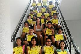 30 niños finalizan el Taller d'estiu de Llengua organizado por Vila para favorecer la integración