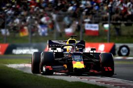 Max Verstappen vuela en Hungaroring