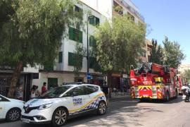 Detenido tras atacar con un cuchillo a un policía durante un incendio en Ibiza