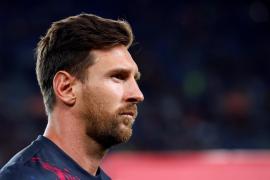 Messi se lesiona en su primer entrenamiento