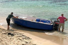Localizada una patera y seis ocupantes, dos de ellos menores, en Formentera