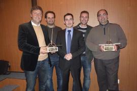 Entrega del Premi Illes Balears d'Enginyeria Civil en la sede de la Cambra de Comerç
