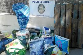 La Policía Local detiene a siete personas por vender 'gas de la risa' en Sant Antoni