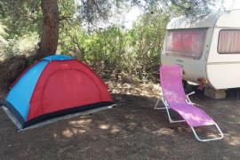 Caravanas, barcos y tiendas de campaña como alojamiento en Mallorca