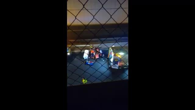 Herido un motorista accidentado en la carretera del aeropuerto de Ibiza