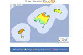 Baleares y una veintena de provincias están en aviso por calor este viernes
