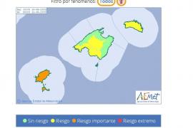 Alerta naranja en Ibiza y Formentera por altas temperaturas