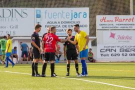 El partido entre el San Rafael y el Formentera, en imágenes