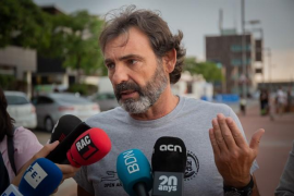 Camps (Open Arms): «Ningún político evitará que protejamos la vida humana en el mar»