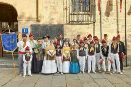 La Colla de Vila lleva el 'ball pagès' hasta el corazón de Castilla y León