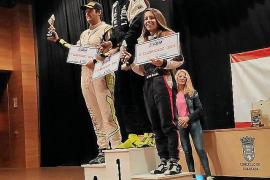 Mari Pau Huguet se sube al tercer cajón del podio en tierras lucenses