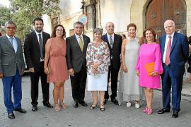 Recepción de los Reyes en L'Almudaina