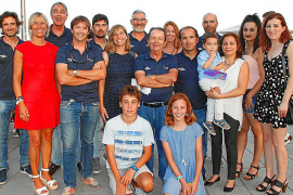 Entrega de trofeos de la 38 Copa del Rey de Vela en ses Voltes