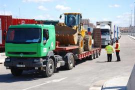 El tráfico de mercancías en el puerto de Ibiza crece un 6% el primer semestre de 2019