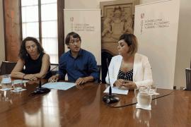 Virginia Abraham, Iago Negueruela y Yolanda Robledo