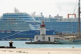 El número de cruceristas en el puerto de Ibiza ha aumentado un 23 % en el primer semestre