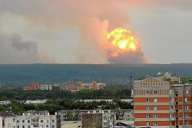 Explosión en Siberia