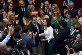 Ayuso es investida presidenta de Madrid
