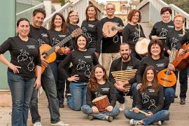 La Colla de Labritja y Aires Mallorquins de Jaume Company actúan en sa Cala