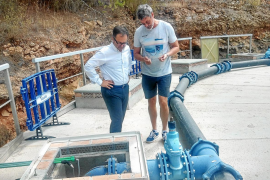 Sant Josep denuncia 18 casos de enganches ilegales a la red de agua en lo que va de año