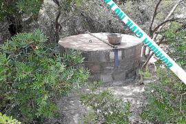 El municipio de Sant Antoni sella dos pozos peligrosos para la ciudadanía