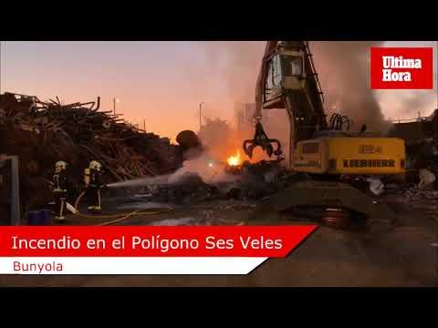 Madrugada de incendios en Mallorca