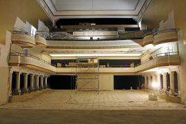 La reforma del Teatre Principal de Inca entra en la recta final