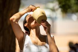 Temperaturas máximas altas en Mallorca