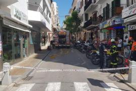 40 personas evacuadas en Sant Antoni por un incendio en una cafetería