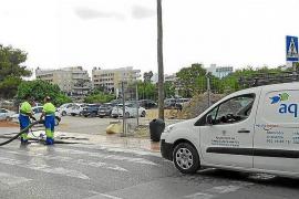 Sant Josep pierde 33 de cada 100 litros de agua que distribuye en la red de suministro