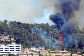 El Govern prevé un canon para casas en suelo forestal sin medidas antiincendios