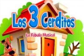 La fábula musical 'Los tres cerditos' llega al Auditórium de Palma