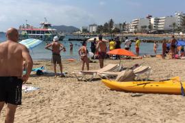 Evoluciona favorablemente la mujer de 65 años que casi se ahoga en ses Figueretes