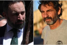Santiago Abascal y Óscar Camps