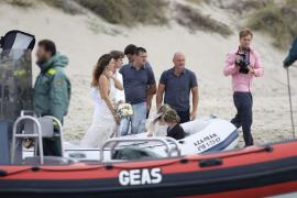 Multa de 2.000 euros al modelo Mark Vanderloo por su boda en s'Espalmador