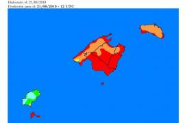Riesgo extremo de incendios en Formentera