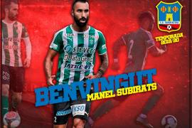 El Formentera se hace con el defensa Manel Subirats