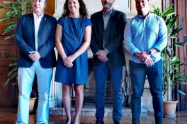 Carlos Simarro, Catalina Cladera, Josep Lluís Pons y Carlos Darder