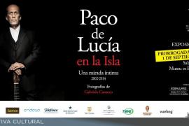 'Paco de Lucía en la Isla', una exposición fotográfica organizada por el Club Ultima Hora en Es Baluard