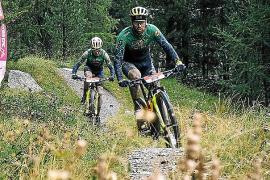 Morcillo finaliza sexto en la tercera etapa de la Swiss Epic
