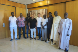 Reunión de senegaleses con el Ajuntament de Calvià