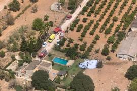Una testigo del accidente: «Niños, fuera del agua que nos cae un avión encima»