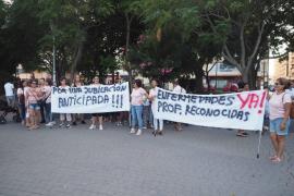 La manifestación de las 'kellys' en Ibiza, en imágenes (Fotos: Marcelo Sastre).