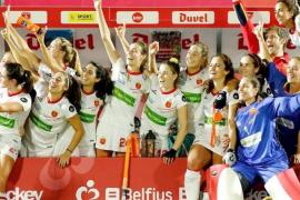 España gana el bronce europeo de hockey hierba en los 'shoot-outs'